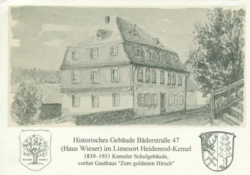 Postkarte des Heimat- und Kulturhauses in