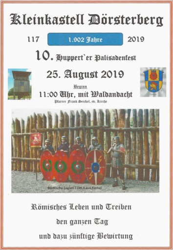 Palisadenfest auf dem Dörsterberg